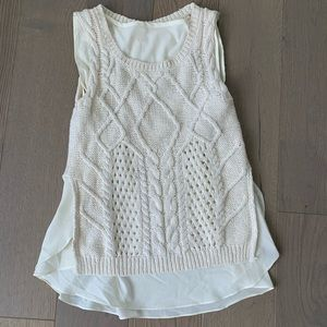Anthropologie Moth knit top